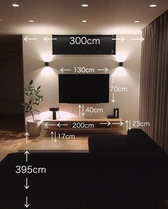\ my home diary /さん( Tv Cabinet Design, Tv Wall Design, Living Room Setup, Cozy Living Rooms, Contemporary Windows And Doors, Casa Top, Home Electrical Wiring, House Plans With Pictures, Tv Wall Decor