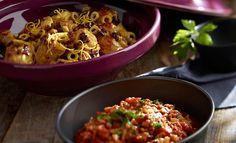 Kurczak po marokańsku #lidl #przepis #pascal #kurczak #marokansku #bakłażan Lidl, Fried Rice, Shrimp, Fries, Curry, Cooking Recipes, Meat, Chicken, Ethnic Recipes