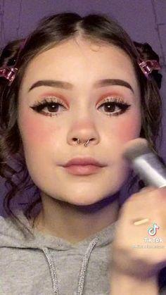 Punk Makeup, Eye Makeup Art, Fairy Makeup, Crazy Makeup, Pretty Makeup, Makeup Inspo, Eyeshadow Makeup, Makeup Inspiration, Makeup Looks
