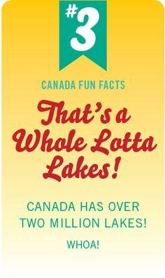 Canada Fun Fact No. 3 by #PinUpLive