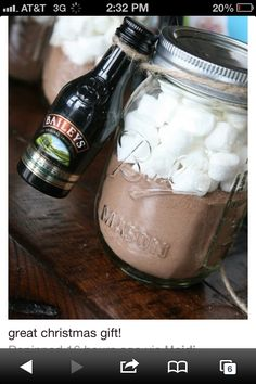 Baileys and Hot Cocoa Gift
