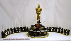 Oscar Hollywood Sweet 16 Candles