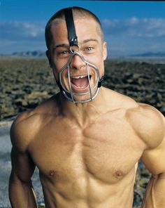 Brad Pitt for Rolling Stone, October 1999