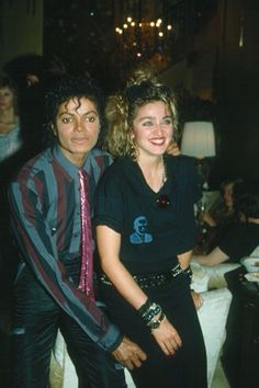 Michael Jackson And Madonna (MJ And Madge) King and Queen Of Pop