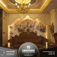 Tarihin görkemi evinizde ışıldasın. #astas #alcidekorasyon #astasalci #kartonpiyer #plaster #plasterwork #ottoman #sultan #design #decoration #palace