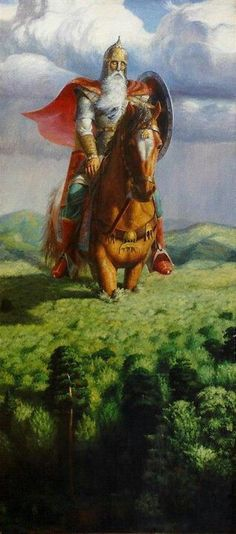 GIGANT SVYATOGOR - Old Slavic lore...