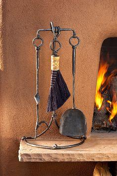 3 Tool Fireplace Set