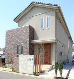 外観 Design Exterior, Facade Design, Fence Design, Japan House Design, Modern Minimalist House, Japanese House, My Dream Home, Interior Architecture, My House