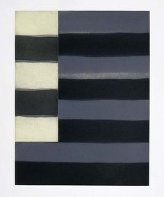 Sean Scully Untitled (print #4) : portfolio 'Enter Six' etching, aquatint, sugarlift, and spitbite on paper plate: 18 x 14 in. (45.7 x 35.6 cm) 1998