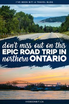 This is one Canadian road trip you won't want to miss! What better way to explore than with a Northern Ontario road trip? Check out my itinerary as you visit Sault Ste Marie Sudbury drive the coast of Lake Superior and more!