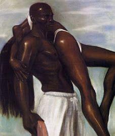 nubian kings | Nubian King Carrying His Nubian Queen