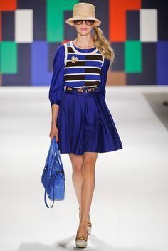 Milly Spring 2012 Ready-to-Wear Fashion Show - Lydia Carron