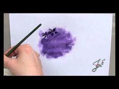 Peindre rapidement et facilement un hortensia