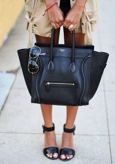 Celine bag in black