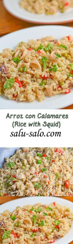 Arroz con Calamares (Rice with Squid)