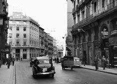 Carrera de San Jerónimo. 1960