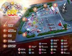 EDC New York 2013 Festival Map Released Today