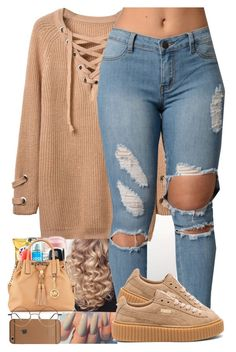 """Untitled #21"" by amyajoinae ❤ liked on Polyvore featuring Puma"