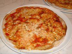 PIZZA INTEGRALE CON LA MACCHINA DEL PANE | la cucina della Pallina