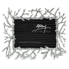 Silver coral frame. Michael Aram = Genius.