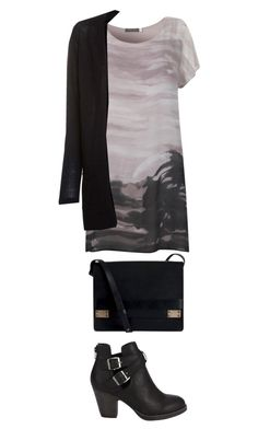 """Joan Watson Style"" by moonrain0 ❤ liked on Polyvore featuring Mint Velvet, Pieces, StreetStyle, dress and Joanwatson"