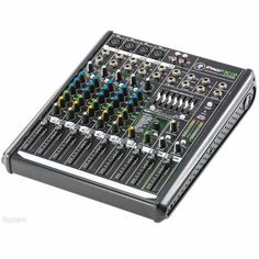 Mackie Pro 12 Channel Professional Compact Mixer wIth Effects and USB, Silver Front End Design, Sound Engineer, Usb, Phantom Power, Tank Design, Mixers, Audio Equipment, New Media, Ale