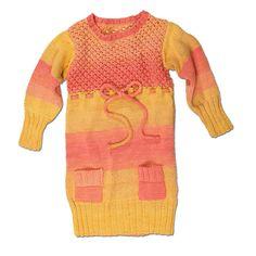 Modell 470/4, Pullikleid aus Pinta von Junghans-Wolle