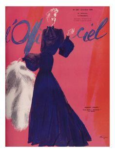 L'Officiel, October 1938 - Robert Piguet