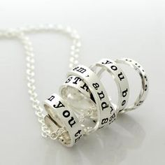 Tons of ideas for stamped jewelry