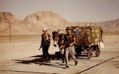 This Day in History: Oct 5, 1974: American circumnavigates the globe on foot http://dingeengoete.blogspot.com/ http://s4.hubimg.com/u/5094335_f520.jpg