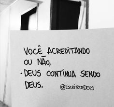 DEUS! ❤️ Love The Lord, God Is Good, Love You, My Love, Frases Humor, Word Of God, Slogan, Verses, First Love