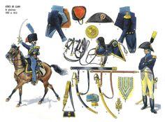 Aiutanti di campo dei generali, 1803 - 1813
