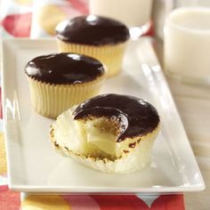 Boston Cream Cupcakes Recipe from Taste of Home -- shared by Jeanne Holt of Mendota Heights, Minnesota
