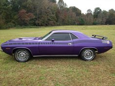 American Muscle Cars… 1970 Plymouth Cuda