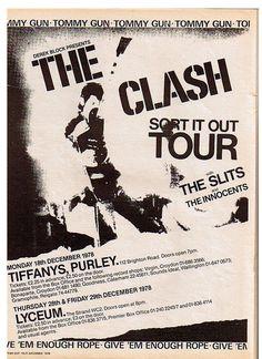 The Clash - Sort it out tour