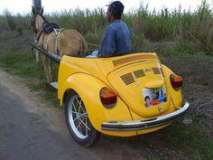 .un caballo de fuerza convertible