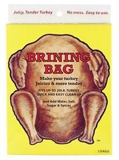 Heuck Turkey Brining Bag ** For more information, visit image link. Turkey Brining Bag, Cool Messenger Bags, Sugar And Spice, Bag Making, Make It Yourself, Kitchen Utensils, Granite, Image Link