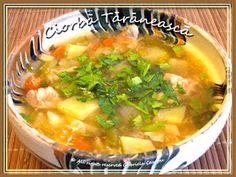 La Chef-A: CIORBA TARANEASCA CU CARNE DE PORC Supe, Ethnic Recipes, Desserts, Diy, Beauty, Pork, Kitchens, Tailgate Desserts, Bricolage