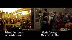 Un montaj al unei filmari brute cu compozitia finala din film, sincronizate pentru a arata o tehnica steadicam.