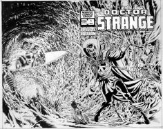 Doctor Strange Special #1 by Bernie Wrightson
