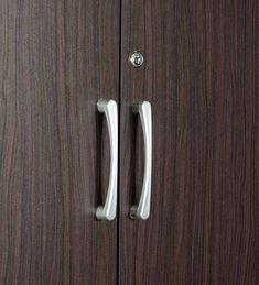 Buy Yukio 4 Door Wardrobe in Walnut Finish by Mintwud Online - 4 Door Wardrobes - Wardrobes - Furniture - Pepperfry Product 4 Door Wardrobe, Wardrobe Furniture, Walnut Finish, Types Of Wood, Wardrobes, Space Saving, Door Handles, Doors, Crafts