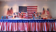 Patriotic 4th of July Party Ideas | Photo 5 of 11 | Catch My Party
