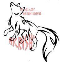 Dacing Fox Tattoo by HitoshiHalfbreed