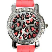 Bright Leopard watch