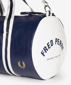 85fa91e96 Fred Perry - Classic Barrel Bag Fred Perry Bag, Mens Fred Perry, Barrel Bag