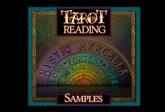 Sample Tarot Story Readings by Mystic Marcella