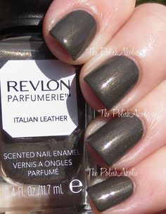 [OWNED] Revlon Parfumerie - Italian Leather (2 coats)