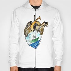#french bulldog American Apparel Zip-up Hoodies and Pullover Hoodies come in a variety of colors and sizes.  Complete with kangaroo pocket this stretchy, comfortable fit, unisex cut includes double-stitched cuffs and hem.