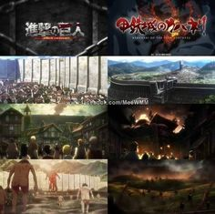 Attack on Titan x Kabaneri of the Iron Fortress-yep I noticed, a lot alike but there still awesome anime!