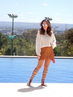 Look do Dia – Camurça #gabimay #lookdodia #ootd